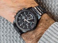 Zegarek sportowy Casio EDIFICE Momentum EFR-S567DC-1AVUEF Slim Sapphire Chrono - duże 6