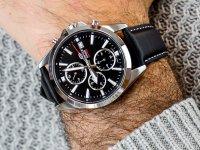Zegarek sportowy Casio EDIFICE Momentum EFV-560L-1AVUEF SIMPLE SPORTY CHRONOGRAPH - duże 6