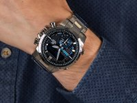 Edifice ECB-800D-1AEF BLUETOOTH SYNC LCD zegarek sportowy EDIFICE Premium