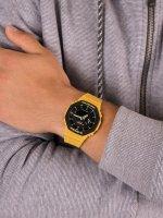 G-Shock GA-2110SU-9AER męski zegarek G-Shock pasek