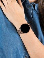 zegarek Garett 5903246282306 Smartwatch Garett Lady Bella złoty stalowy damski z krokomierz Damskie