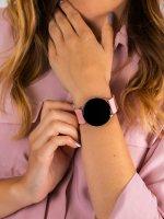zegarek Garett 5903246286335 Smartwatch Garett Lady Bella różowy damski z krokomierz Damskie