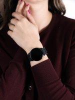 zegarek Garett 5903246286366 Smartwatch Garett Lady Bella czarny damski z krokomierz Damskie
