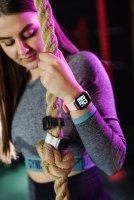 Garett 5903246286397 Damskie Smartwatch Garett Lady Viki czarny zegarek damski sportowy z tworzywa sztucznego