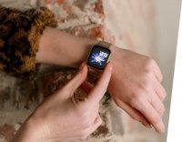 Garett 5903246287080 Damskie Smartwatch Garett Women Eva RT złoty stalowy zegarek damski sportowy z tworzywa sztucznego