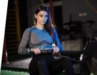 Garett 5903246287134 Damskie Smartwatch Garett Women Eva RT niebieski zegarek damski sportowy z tworzywa sztucznego