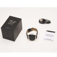 Garett 5903246287240 Damskie Smartwatch Garett Women Naomi RT czarny skórzany zegarek damski sportowy z tworzywa sztucznego