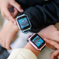 Zegarek sportowy Garett Dla dzieci 5903246282900 Smartwatch Garett GPS Junior 2 Różowy - duże 6