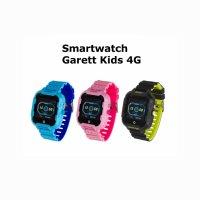Garett 5903246286809 Smartwatch Garett Kids Star 4G RT czarny zegarek sportowy Dla dzieci