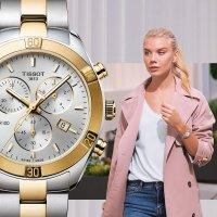 Tissot T101.917.22.031.00 PR 100 SPORT CHIC CHRONOGRAPH zegarek sportowy PR 100