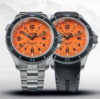 zegarek Traser TS-109379 kwarcowy męski P67 SuperSub P67 SuperSub Orange Special Set