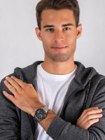 Zegarek srebrny elegancki  Klasyczne PX3203X1 bransoleta - duże 4