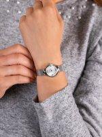 Zegarek srebrny elegancki Adriatica Bransoleta A3435.5173Q bransoleta - duże 5