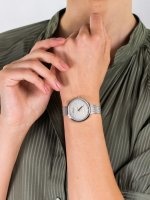 Zegarek srebrny elegancki Adriatica Bransoleta A3716.5147Q bransoleta - duże 5