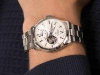 Zegarek srebrny elegancki Orient Star Contemporary RE-AT0003S00B bransoleta - duże 6