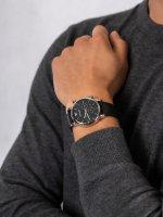 Zegarek srebrny fashion/modowy  Sports and Fashion AR1733 pasek - duże 5
