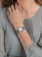Fossil ES3282 zegarek srebrny fashion/modowy Virginia bransoleta