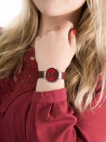 Zegarek srebrny fashion/modowy Bering Classic 14531-303 bransoleta - duże 5