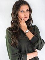 Zegarek srebrny fashion/modowy Caravelle Bransoleta 43L213 bransoleta - duże 4