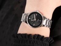 Zegarek srebrny fashion/modowy Caravelle Bransoleta 43P110 bransoleta - duże 6