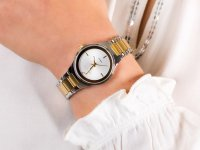 Zegarek srebrny fashion/modowy Caravelle Bransoleta 45P108 bransoleta - duże 6