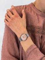 Zegarek srebrny fashion/modowy Cluse Minuit CW0101203029 bransoleta - duże 5