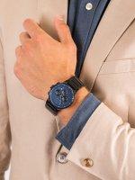 Zegarek srebrny fashion/modowy Esprit Męskie ES1G025M0085 bransoleta - duże 5