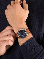 Zegarek srebrny fashion/modowy Fossil Neutra FS5453 pasek - duże 5