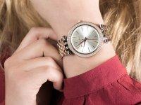 Zegarek srebrny fashion/modowy Michael Kors Darci MK3203 bransoleta - duże 6