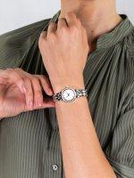 Zegarek srebrny fashion/modowy Michael Kors Darci MK3294 bransoleta - duże 5