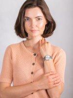 Zegarek srebrny fashion/modowy Rosefield The Ace ACSS-A04 bransoleta - duże 4
