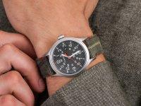 Zegarek srebrny fashion/modowy Timex Allied TW2R60900 pasek - duże 6
