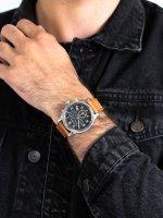 Zegarek srebrny fashion/modowy Timex Allied TW2T32900 pasek - duże 5