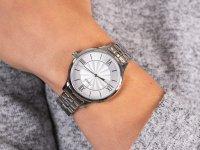 Zegarek srebrny fashion/modowy Timex Fashion TW2R28200 bransoleta - duże 6