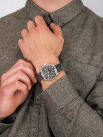 Zegarek srebrny fashion/modowy Timex MK1 TW2R68100 pasek - duże 5