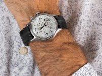 Zegarek srebrny fashion/modowy Timex MK1 TW2R68800 pasek - duże 6