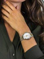 Zegarek srebrny fashion/modowy Timex Waterbury TW2R69500 bransoleta - duże 5