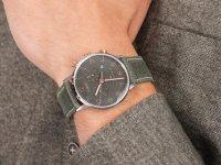 Zegarek srebrny fashion/modowy Timex Waterbury TW2T71400 pasek - duże 6