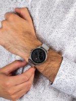 Zegarek srebrny fashion/modowy Tommy Hilfiger Męskie 1791415 bransoleta - duże 5