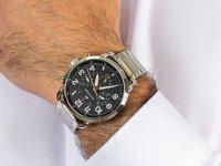 Zegarek srebrny fashion/modowy Tommy Hilfiger Męskie 1791422 bransoleta - duże 6