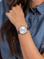 Zegarek srebrny klasyczny  Bransoleta AK-2999SVSV bransoleta - duże 5