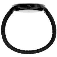 Timex TW2U39800 zegarek czarny klasyczny Easy Reader bransoleta