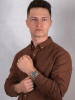 Zegarek srebrny klasyczny  Expedition TW4B01700 pasek - duże 4