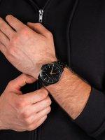 Zegarek srebrny klasyczny  Fashion AX2144 bransoleta - duże 5