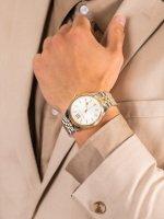 Michael Kors MK8752 męski zegarek Lexington bransoleta