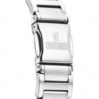Festina F16936-B zegarek srebrny klasyczny Mademoiselle bransoleta