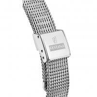 Festina F20336-1 zegarek srebrny klasyczny Mademoiselle bransoleta