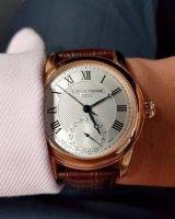 Frederique Constant FC-710MC4H4 zegarek srebrny klasyczny Manufacture pasek