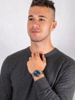 Zegarek srebrny klasyczny  Męskie 2011067 bransoleta - duże 4