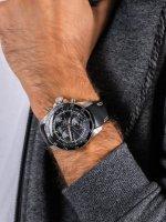 Zegarek srebrny klasyczny  N1 Rocket 6S30-2255177 pasek - duże 5
